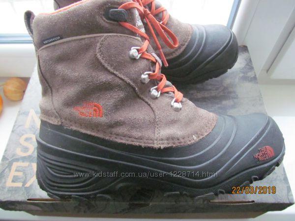 Кожаные ботинки The North Face