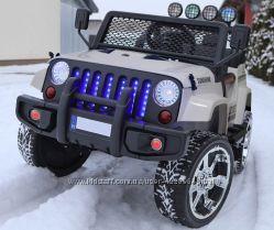 Детский электромобиль джип JJ 2388 колеса EVA белый