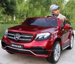 Детский электромобиль Mercedes AMG GLS 63  4 Matic. двухместный