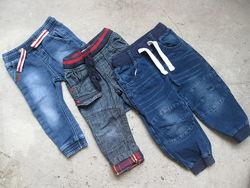 Крутые фирменные джинсы для Вашего модника 9-12М