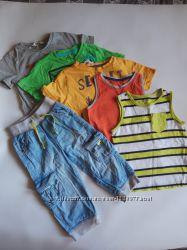 Пакет фирменных летней одежды на 2-3 года