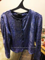 Блуза бархатна Oodji, 48 розм