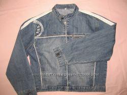 Курточка джинсовая на 12-14 лет
