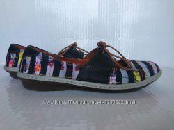 Стильные туфли  мокасины 39р Art Испания