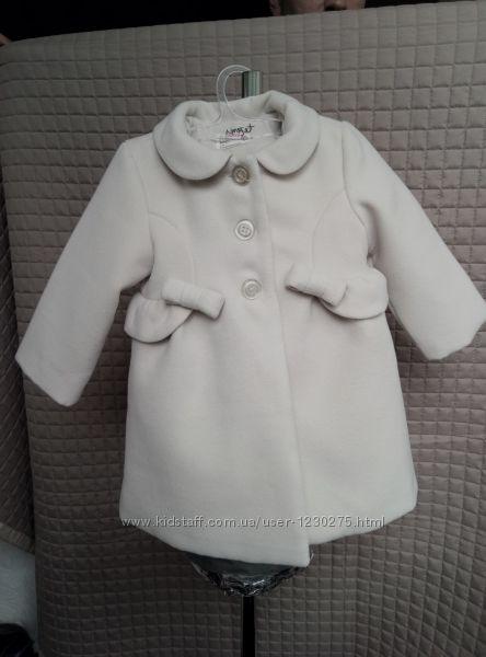 Шикарное демисезонное пальто Prenatal, пальтишко