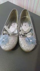 Нарядные блестящие туфельки Accessorize, размер 30