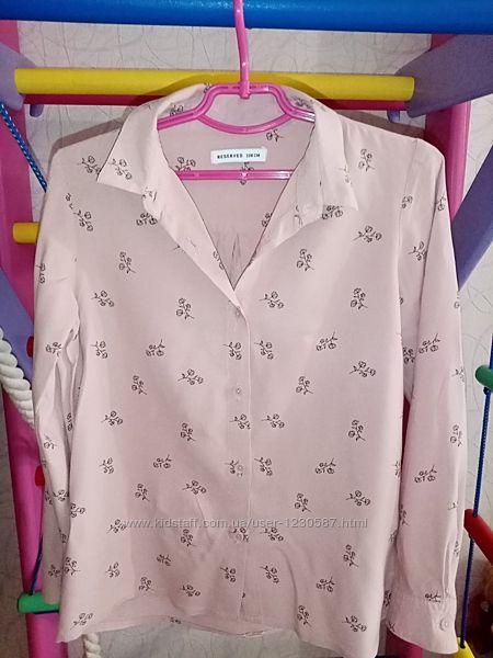 Нарядная рубашка Reserved на девочку на рост 128 см, на 7-8 лет
