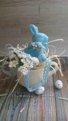 Happy easter candles. Пасхальный кролик от L&acuteengard