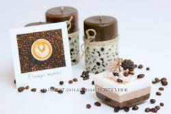 Свечи кофе-кофе Ароматные кофейные свечи для гурманов