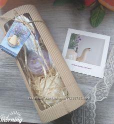 Нежные свечи -пионы в наборе, из коллекции  Доброго ранку, Красуне