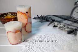 Ароматнейшие стильные яблочные свечи