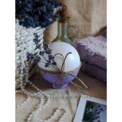 Ароматные лавандовые свечи шары  Lavender bar