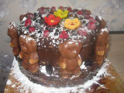 Недорого Очень вкусные домашние торты под заказ Коммунар и не только