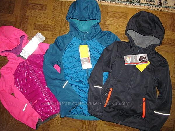 Термо-Куртки детские Softshell Alive Kids новые р-134,140,146,152,158,164