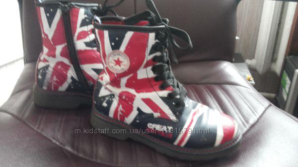 Демисезонные ботинки B&G размер 34 стелька 22, 3 см