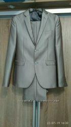 Мужской костюм Marco Renci светло-серый оригинал