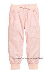 Штаны H&M НМ на девочку, размер 2-3 года, в хорошем состоянии