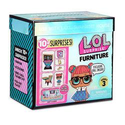 Набор с куклой L. O. L. Surprise серии Furniture S2 - Класс Умницы