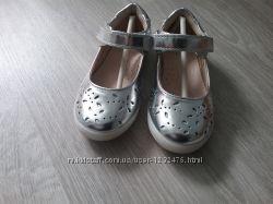 Туфли для девочки брендовые Кожа р. 24