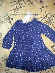 Новое платье 12-18мес H-M