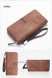 Мужской кошелек клатч портмоне. Два цвета. Отправка напрямую со склада