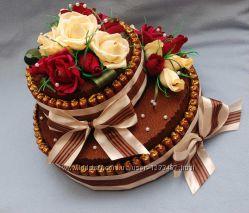 Торт с конфет букет с конфет свит дизайн подарок