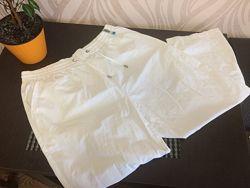 штаны бриджи белые