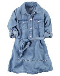 Продам джинсовое платье на девочку Carter&acutes Размер 7-8лет