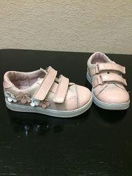 Кожаные туфли на липучке Котофей Kotofey