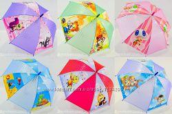 Детский зонтик трость 003 с зверушками на 4-6 лет от фирмы Monsoon.