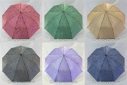 Зонтик женский полуавтомат сатин от т. м. Max 132.