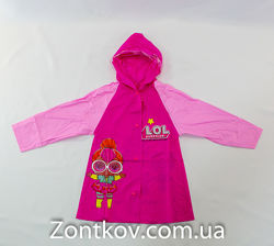 Детский дождевик ЛОЛ для девочки от фирмы Feeling Rain