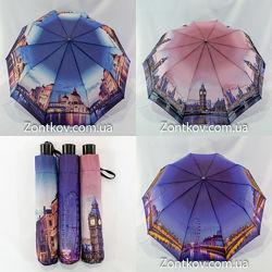 Женский зонтик полуавтомат city от фирмы Feeling Rain 1709.