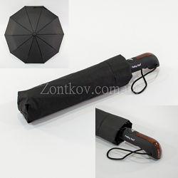 Мужской зонт полуавтомат на 10 спиц от т. м. Feeling Rain 453