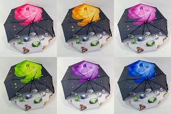 Складной женский зонтик полуавтомат CL125 diamond от фирмы Caim Rain