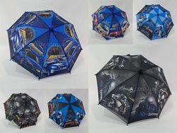 Детский зонтик для мальчика sports car на 4-8 лет 10619