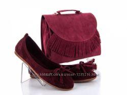 балетки  сумка комплект