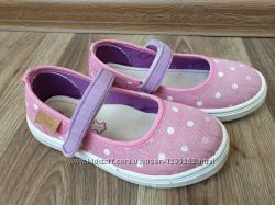 Текстильные мокасины для девочки d. d. step