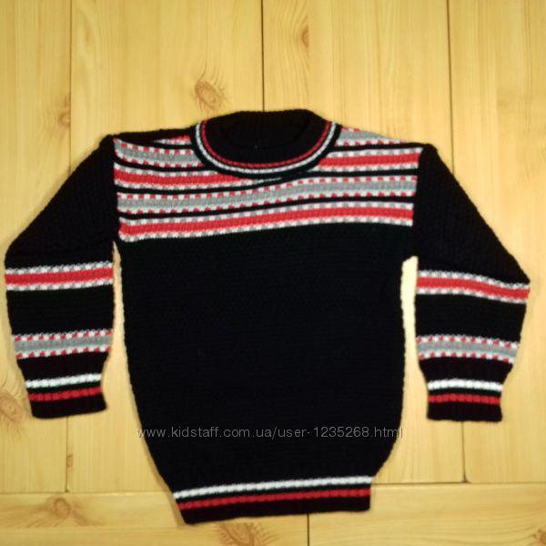Детский свитер для мальчика на 2, 3, 4, 5 лет