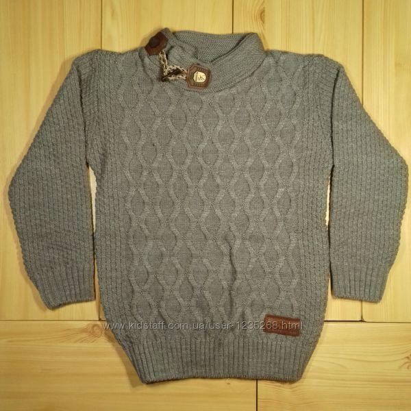 Детский свитер для мальчика 2 цвета на 5-6, 7-8 лет