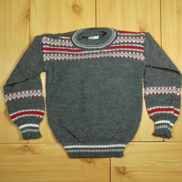 Детский свитер на 2, 3, 4, 5 лет