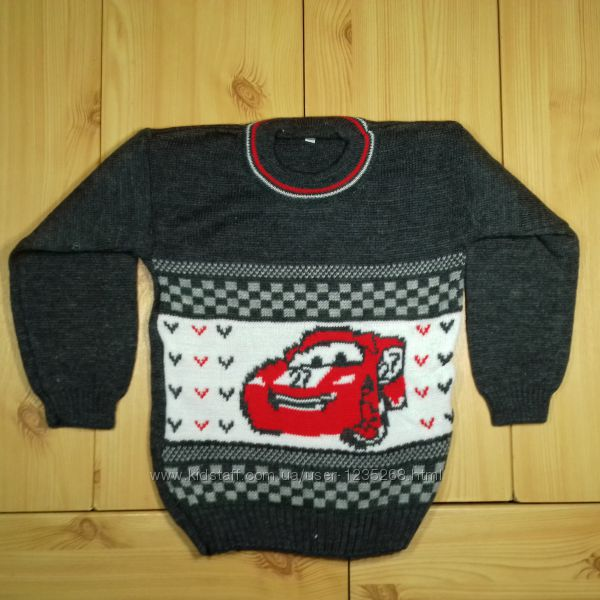 Детский свитер для мальчика 1, 2, 3, 4 года