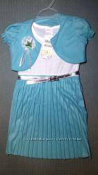 Детское нарядное платье с болеро 2 цвета Турция Beebaby Бибеби