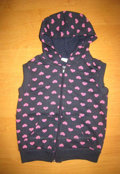 Детская жилетка для девочки рр. 92-98 Beebaby Бибеби
