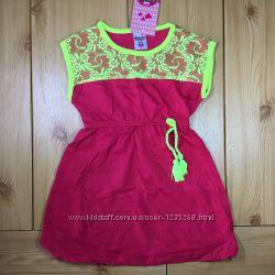 Нарядное летнее платье для девочки рр. 92 Beebaby Бибеби