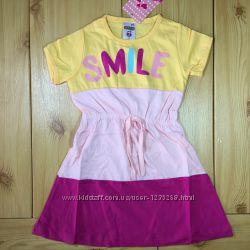 Детское платье для девочки Smile Турция Beebaby Бибеби