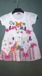 Летнее платье для девочки Цветы Beebaby Бибеби