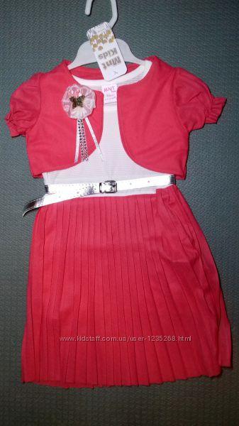 Детское нарядное платье с болеро для девочки Beebaby Бибеби