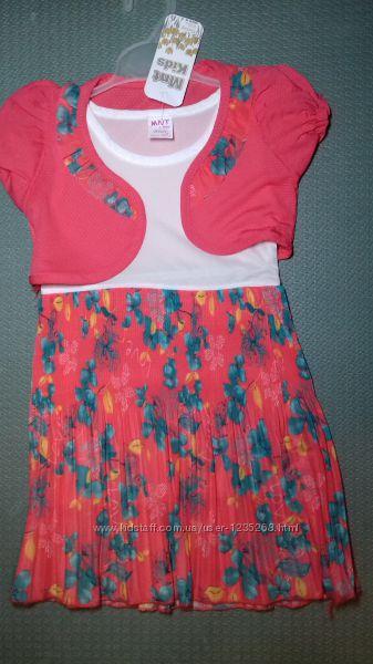 Детское нарядное платье для девочки Beebaby Бибеби