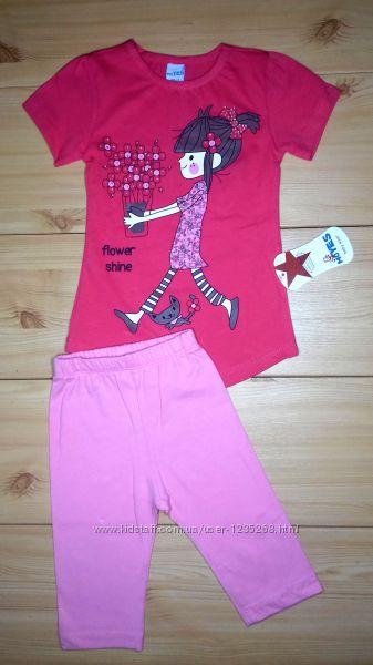 Летний костюм для девочки Турция Beebaby Бибеби